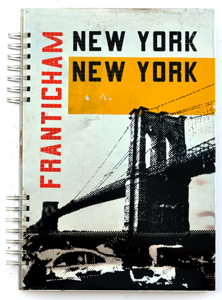 New york new york silk screen printed book for Fachhochschule offenbach